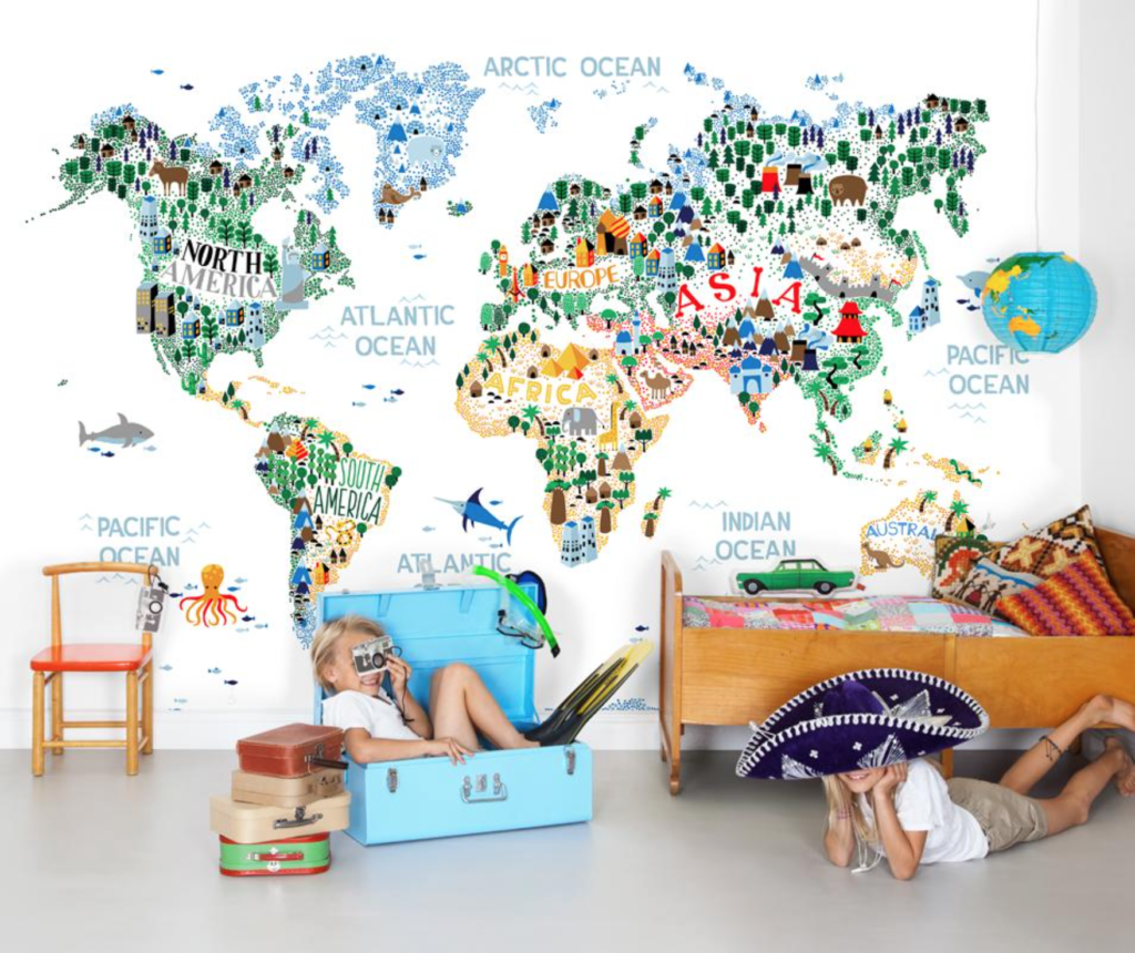 Riku Ounaslehto_ Cutest World Map Ever (mock-up)
